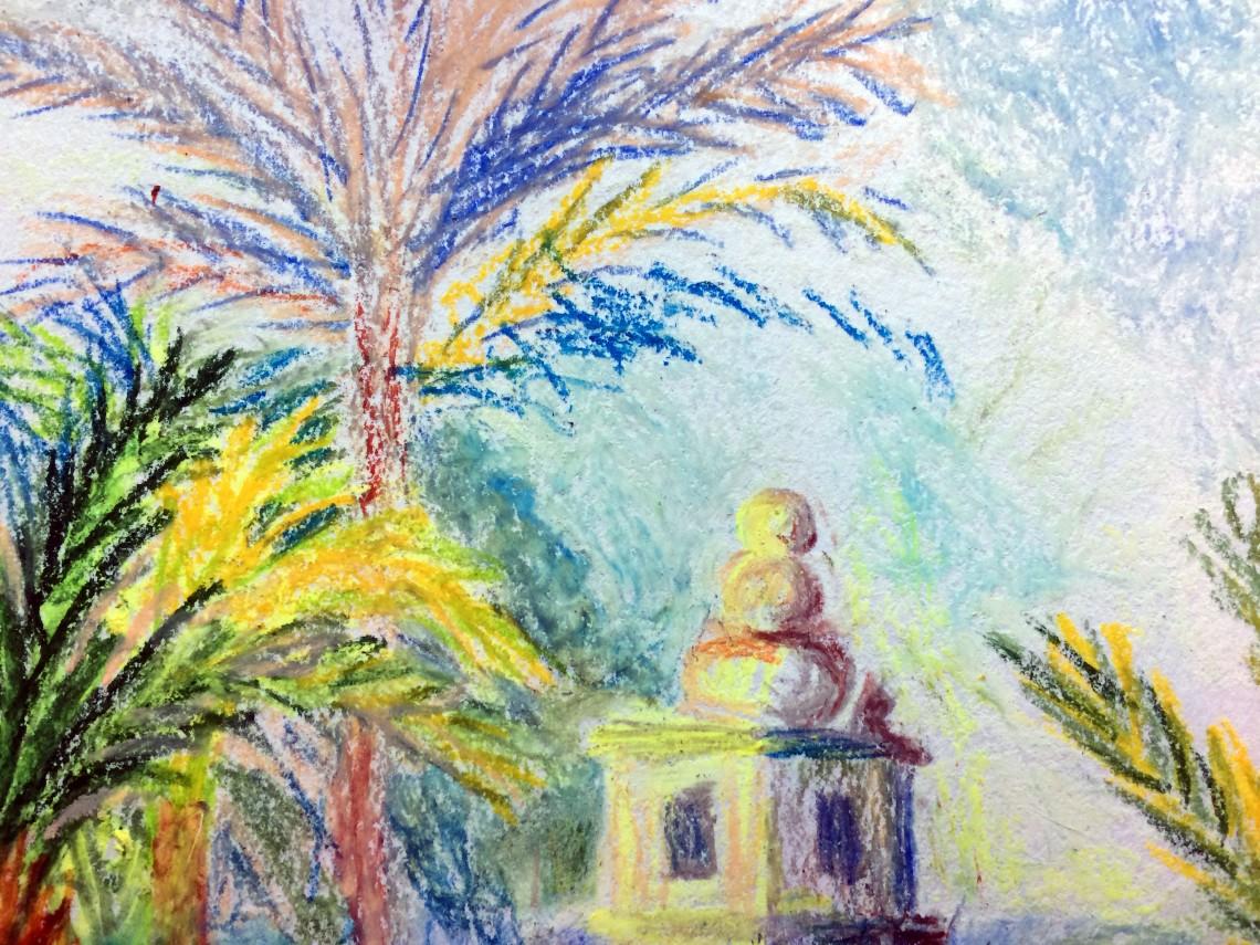 After Monet close up